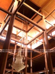 arsitektur bagian dalam Masjid Sunan Ampel, Surabaya