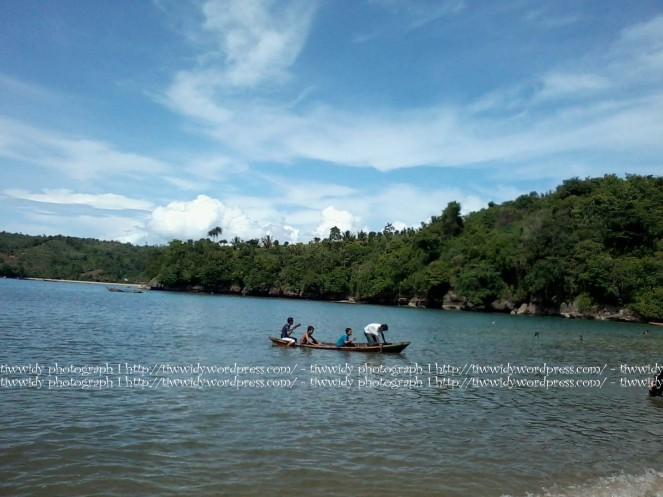 scenery of Gerangan beach