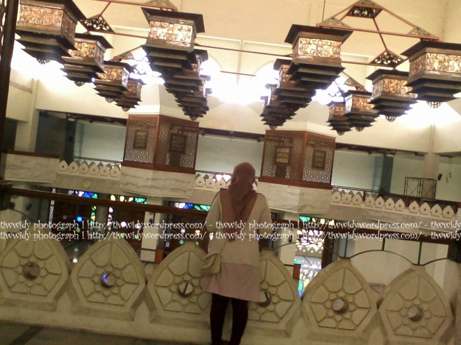 lantai 3 Masjid Agung Gresik