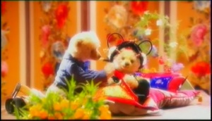 princess hours' teddy bear (episode 13) >> first night procession