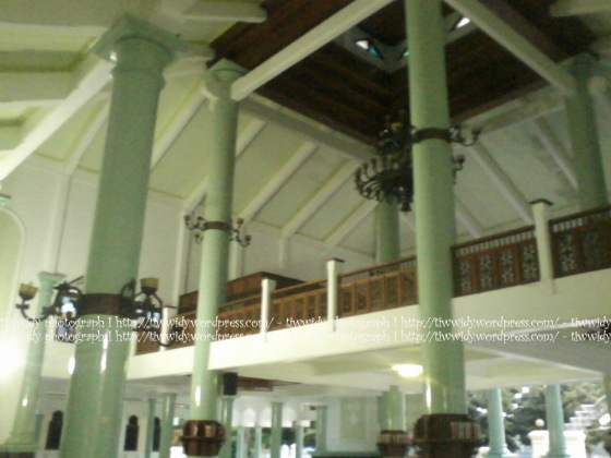 the main building of Masjid Agung Rembang