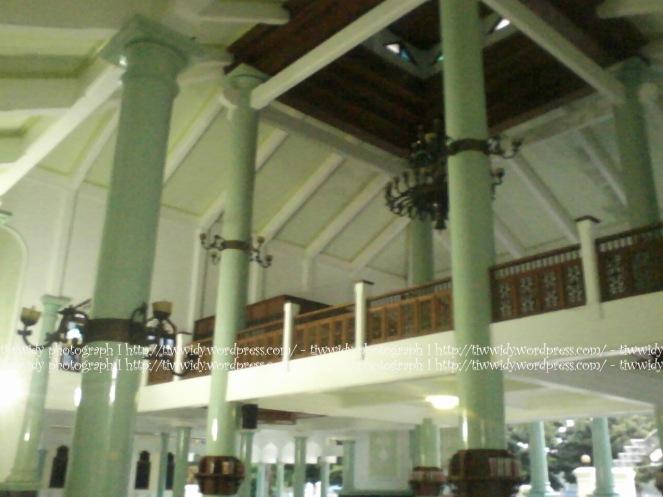 the main building of Masjid Agung Rembang