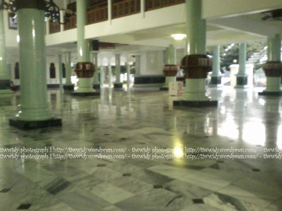 main hall of Masjid Agung Rembang