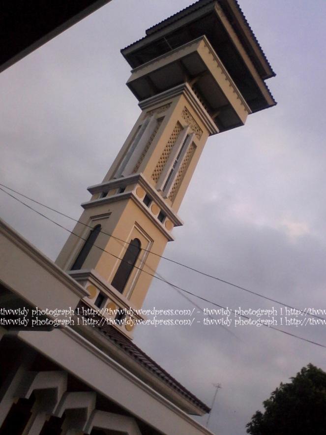menara mihrab Masjid Agung Rembang