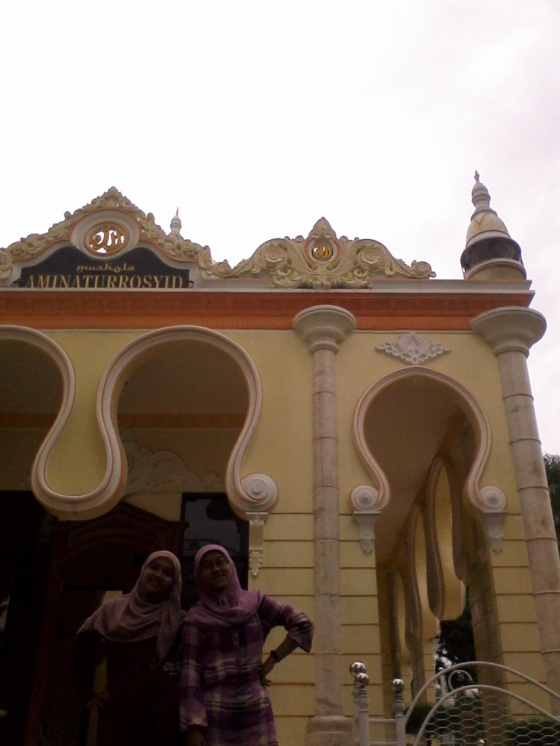 back side of mosque, still same design