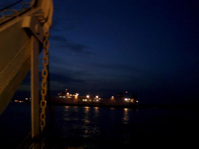 scenery view from Perak Harbor