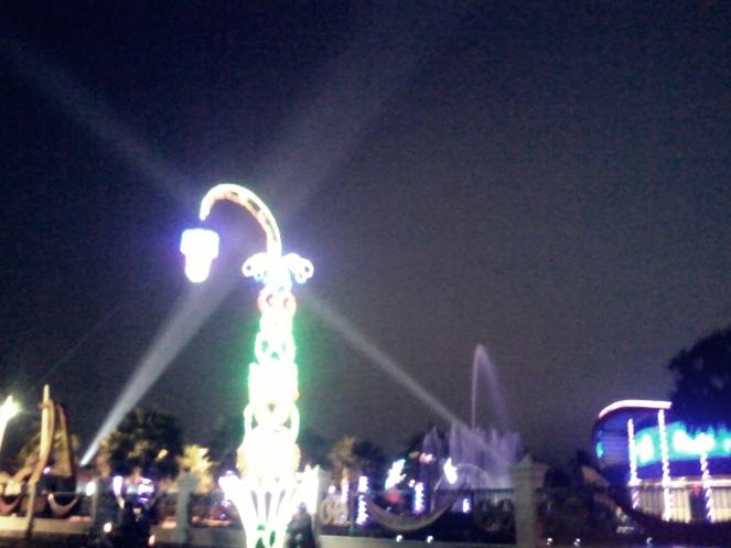 night in Kediri
