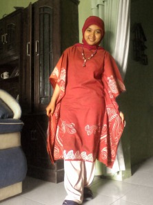 Baju Batik, designed by me
