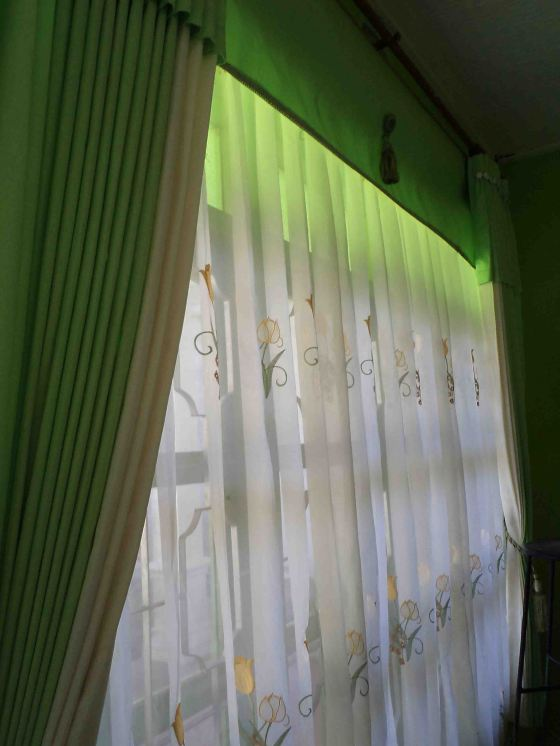 my Green Living Room Curtain