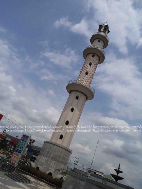 Menara Masjid Agung Kediri