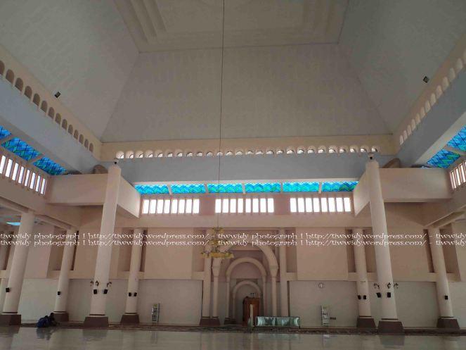Mimbar Depan Masjid An-Nur Pare