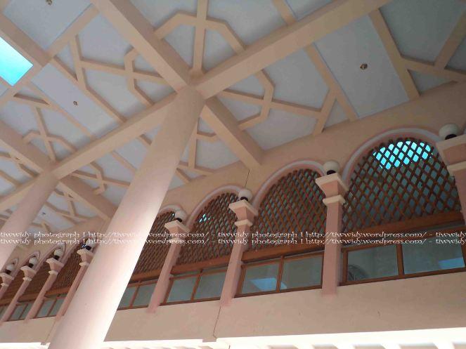 second floor of Masjid An-Nur PAre