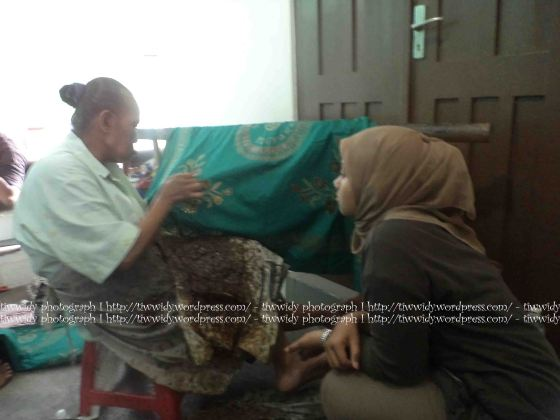 Batik Tulis (Batik TOPO HP, Bantul, Yogyakarta)