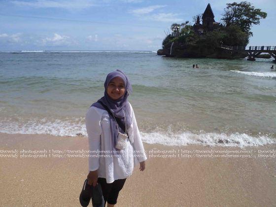 Background  yang cantik di Bale Kambang