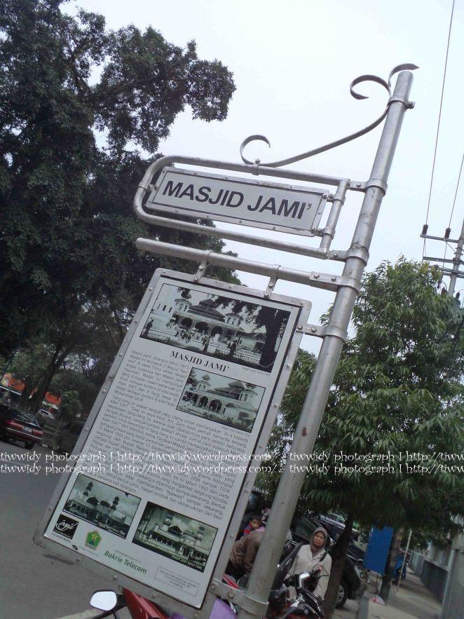 Story Board of Masjid Jami' Malang