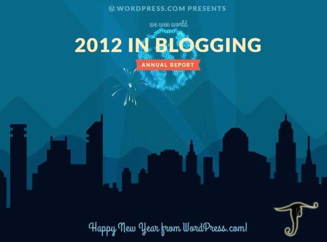 WordPress.com my Annual Report