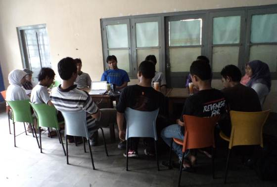 1st Kopdar Komunitas Blogger Kediri