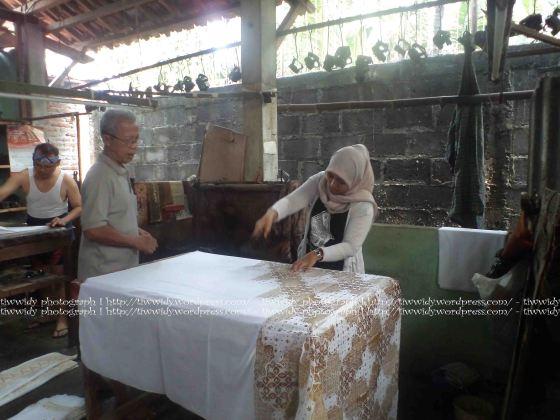 pengecapan batik