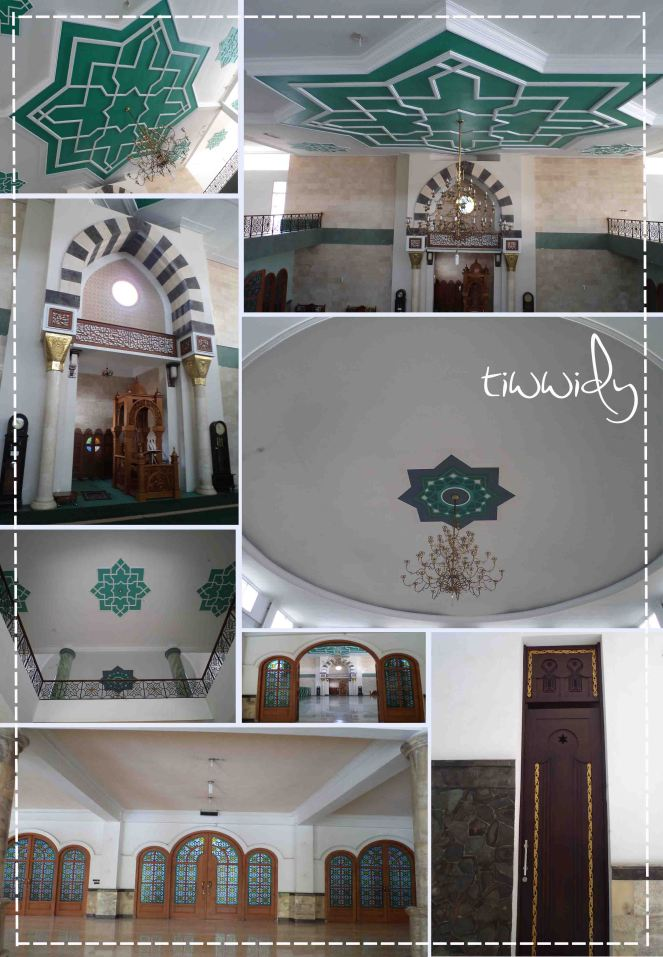Interior Masjid Al-Munawar Tulung Agung
