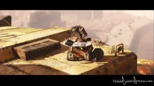 Wall-e gets his energy from burning sun