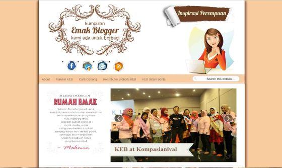 Komunitas Emak Blogger (KEB)