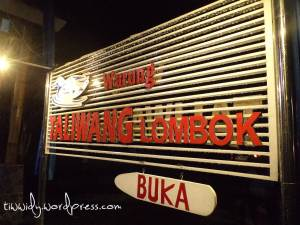 Warung Taliwang Lombok di Kediri