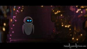 Eve in Wall-e's container