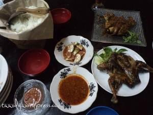 Ayam Bakar Taliwang Madu dan Ayam Goreng Rempah