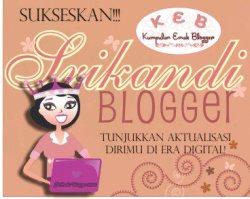 Sukseskan Srikandi Blogger 2013!!