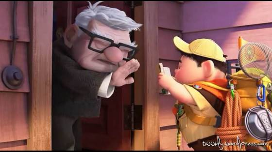 Mr. Fredrickson met Russell