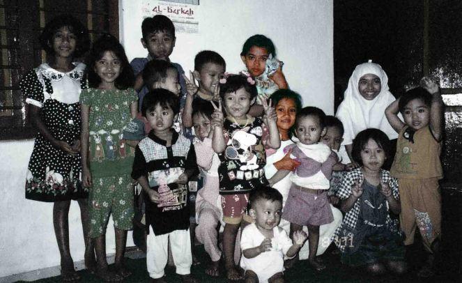 when we were a child