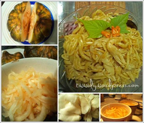 #1st Break Fasting Menu (Mie Jamur, Garbis)