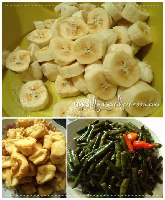 #2nd Break fasting (Kolak Pisang, Tahu Kress, Oseng Kacang Saos Tiram)