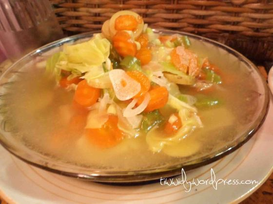 Chicken Soup for Vegetarian
