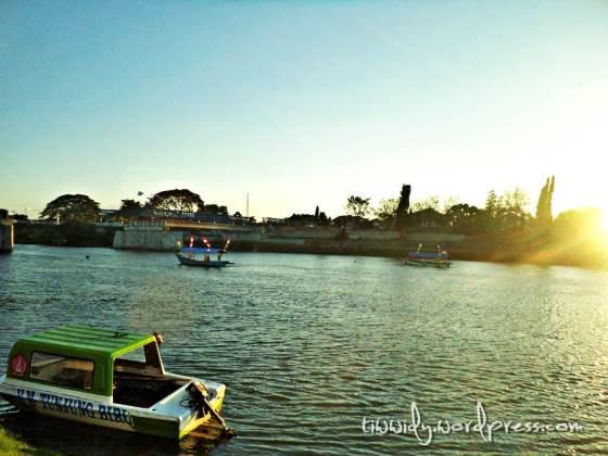 Jembatan Lama, Sungai Brantas Kediri