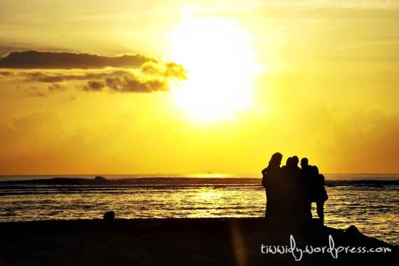 This is it!! The Golden Sunrise of Sanur, Bali