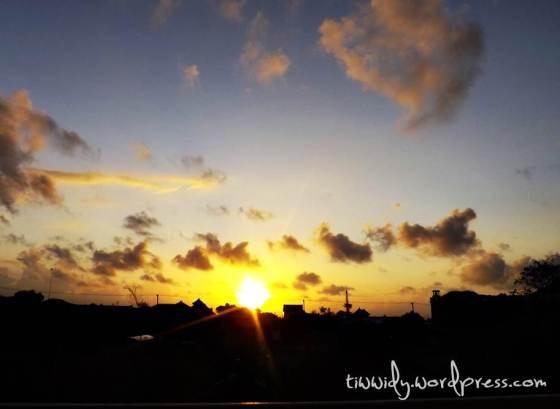 Denpasar Sunrise from my balcony