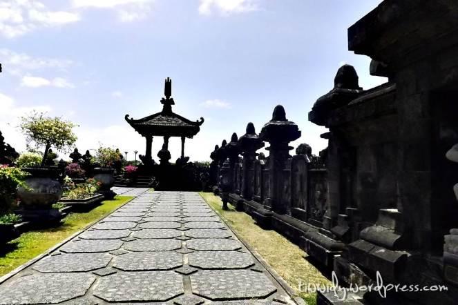 groundfloor of Bajra Sandhi, Renon, Bali