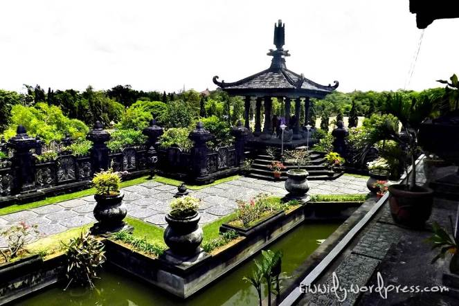 The Green Garden of Bajra Sandhi, Renon, Bali