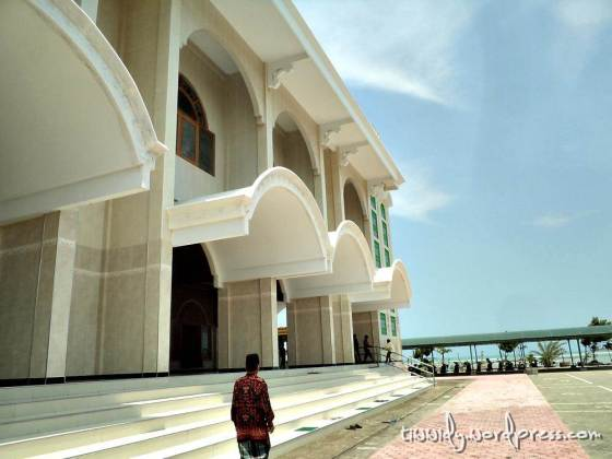 My Dad and I were there, Masjid Maulana Ishaq
